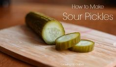 Blog post at Growing Up Gabel : Making a sour pickle recipe is easier than it seems. After mixing up the brine, you simply let the pickles sit for about a week until they[..]