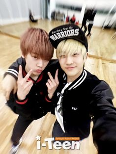 Sanha & Jinwoo ♡ Never give up on the lovely things that make you happy ♡