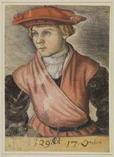 Monogrammist CH, Portrait of a Boy, October 17, 1529