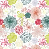 Sweet Paradise by Demigoutte on Spoonflower