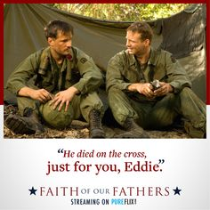 Start Your Free Month and Watch Faith of Our Fathers at Pure Flix Faith Of Our Fathers, Stephen Baldwin, Candace Cameron Bure, Amazon Fire Tv, Christian Movies, Jesus Loves Me, Love You, My Love, Je T'aime