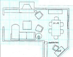 l-shaped living/dining room is a challenge | extensions, room and