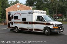 Lake of the Woods Volunteer Fire and Rescue Company (VA) 2012 Braun Chief XL on a Chevrolet G4500 chassis #ambulance #setcom