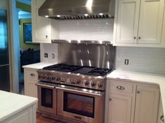 Kitchen remodel, Total kitchen remodel from dark to bright and cozy, Thermador range, Kitchens