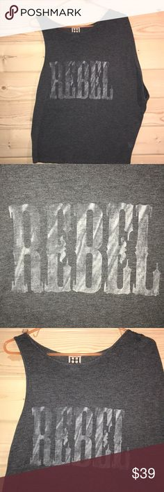 "Haute Hippie ""Rebel"" T-Shirt Good condition see photos. Haute Hippie Tops Tees - Short Sleeve"