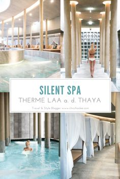 Silent Spa - Therme Laa an der Thaya - Premium Day Spa Spa Therme, Thermal Pool, Austria Travel, Wellness Spa, Top Destinations, Hotels, Weekend Trips, Spa Day, Wonderful Places