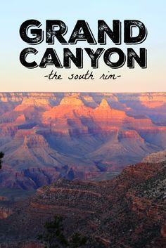 Trip Report | The Grand Canyon | Hi Sugarplum!