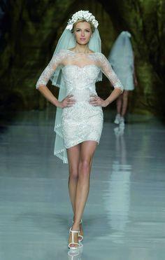 Barcelona Bridal Week: Atelier Pronovias Spring 2014 Collection - California Weddings: http://www.pinterest.com/fresnoweddings/