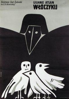 Gadabout / Wloczykij, Polish Theater Poster