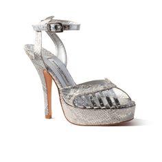Margaurite Python Silver | Terry de Havilland | Official Store