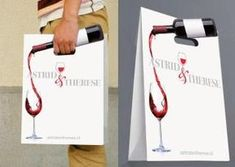 Wine Bag - Wine Musts: The Information You Must Learn Wine Advertising, Creative Advertising, Advertising Design, Guerrilla Advertising, Wine Packaging, Food Packaging Design, Branding Design, Paper Packaging, Wine Design