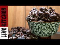 Είναι τόσο μικρά Αλλά Απολαυστικά!! Σοκολατάκια Βραχάκια - Dark Chocolate with mixed nuts - YouTube Chocolate Sweets, Kitchen Living, Cake Pops, Vegan, Breakfast, Tableware, Recipes, Youtube, Food