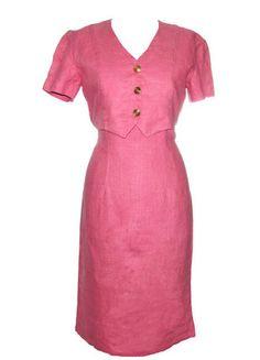 Compra mi artículo en #vinted http://www.vinted.es/ropa-de-mujer/vestidos-largos/122220-vestido-vintage-rosa-pink-lady