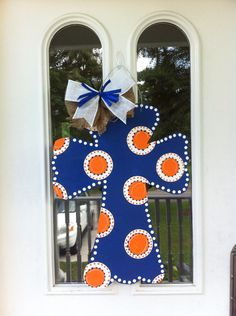 Auburn Cross Door Hanger