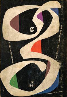 Gebrauchsgraphik, 1954