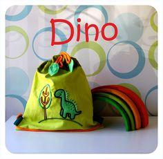 Talega modelo Dino de Algodón de Azucar.