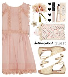 """""""Best Dressed Guest: Barn Weddings"""" by helenevlacho ❤ liked on Polyvore featuring RED Valentino, Steve Madden, Lilly Pulitzer, Forever 21, NARS Cosmetics, contestentry, bestdressedguest and barnwedding"""