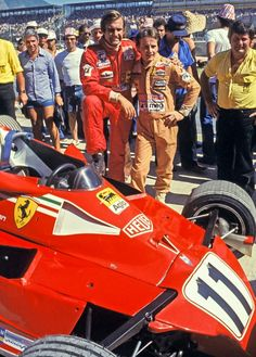 2018/1/30:Twitter: Carlos Reutemann won the Brazilian GP at Jacarepaguá 40 years ago today, he and team-mate Gilles Villeneuve giving the 1977 Championship-winning 312T2 chassis a fitting last outing    #F1 #Villeneuve #F11977