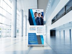 Multipurpose Business Roll Up Banner Print Templates, Psd Templates, Change Image, Corporate Identity, Banner, Photoshop, Business, Card Templates Printable, Banner Stands