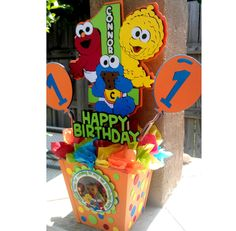 esesame street center pieces | Baby Sesame Street Centerpiece by OohLalaCreation on Etsy