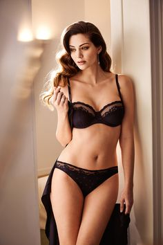 Do you love your lingerie but struggle to find the perfect bra? At Plums we stock beautiful lingerie swimwear and nightwear so you feel fabulous every day. Marie Jo Lingerie, Hot Lingerie, Black Lingerie, Fashion Lingerie, Lingerie Drawer, Bridal Lingerie, Black Bra, Glamour Beauty, Beautiful Lingerie