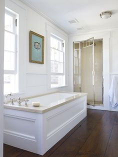 Traditional Bathroom by Harry Heissmann and Jonathon Parisen in Hudson Valley, NY
