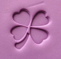 Clover Leaf Resin Seal Soap Stamp For Handmade Soap Candle Fimo Crafts DIY Chapter Soap