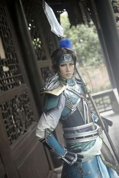 Asian fantasy art and game fanart - Dynasty Warriors - Zhao Yun(Dynasty Warriors 8)