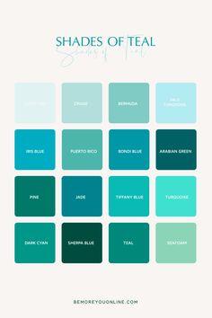 Pantone Colour Palettes, Pastel Colour Palette, Colour Pallete, Colour Schemes, Pantone Color, Shades Of Teal, Color Shades, Purple Color Names, Calming Colors