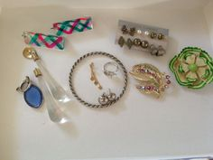 Unique Assortment of Mix Jewelry Items Lot of 13