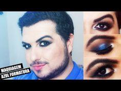 Assista esta dica sobre Maquiagem Azul Formatura by Hemerson Paranaguá e muitas…
