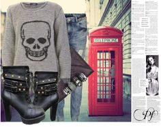 """""""LONDON 3"""" by paris-fashi0n ❤ liked on Polyvore"""