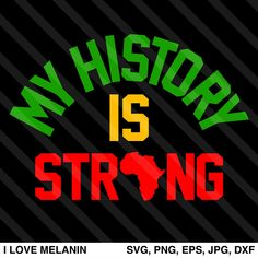 I Love Melanin - African American SVG files for Cricut & Silhouette Black Love Art, Black Girl Art, My Black Is Beautiful, Black Girl Magic, Black History T Shirts, Black History Facts, Black History Month, Reggae Rasta, Young Gifted And Black