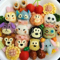 Tsum Tsum rice balls everyday?! ^_^
