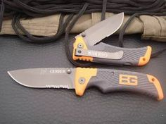 Gerber Knife E126 Ultimate Folding Type Tactical Knife For Camping Hunting 4xel.com