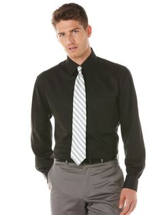 Skip Dent Classic Fit Dress Shirt
