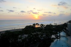 Sunset view from Double Six Rooftop, Bali © Timmy Page / Lonely Planet