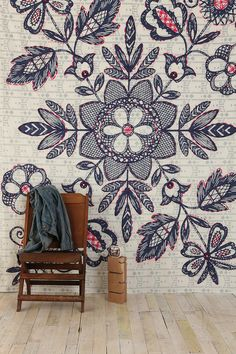 folkloric lace tapestry