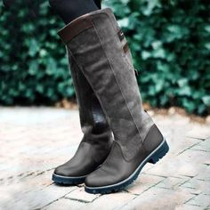 Women Non-slip Outdoor Boots Waterproof Low Heel Paneled Boots boots outfit boots 2017 boots reinigen boots grey boots black Best Winter Boots, Warm Snow Boots, Snow Boots Women, Winter Shoes, Cute Snow Boots, Womens Fall Boots, Womens Muck Boots, Winter Fashion Boots, Winter Clothes