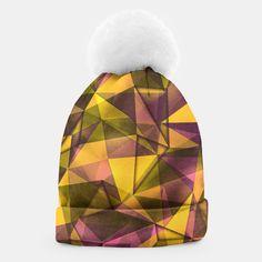 geometric pattern Beanie