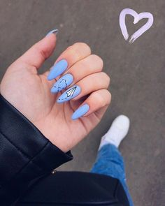 Discover cute and easy nail art designs for all occasions. Find inspiration for Easter, Halloween and Christmas and create your next nail art design. Gel Nails, Nail Polish, Fire Nails, Best Acrylic Nails, Dream Nails, Stylish Nails, Perfect Nails, Simple Nails, Swag Nails