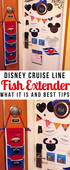 Planning a Disney Cruise vacation? Heard about Fish Extenders and got confused? Don't worry, I've got all the explanations and tips you need right here! Find out what it is, how to participate, and why it will enhance your Disney Cruise Line vacation! Disney Halloween Cruise, Disney Cruise Door, Disney Cruise Tips, Best Cruise, Cruise Travel, Cruise Vacation, Disney Vacations, Disney Travel, Travel Packing