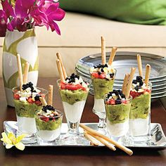 Mini Caviar Parfaits | MyRecipes.com