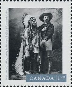 William Notman's Sitting Bull and Buffalo Bill (1885)