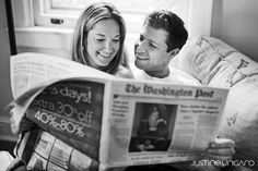 A Home Engagement Session - love!