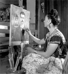 Frida!!! How can I start writing about this amazing woman?  She was born July 6th, of 1907  (Sign: Cancer ), in Coyoacan, Mexico , under th...