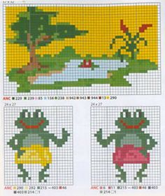 sandylandya.Frogs pattern