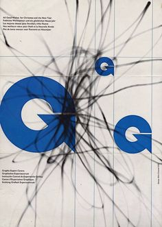 Wim Crouwel – Christmas Card, Graphic Export Centre, 1961