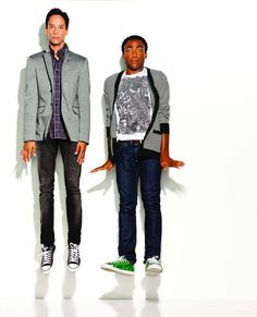 abed & troy. troy & abed.    (danny pudi and donald glover.)
