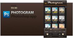 'PHOTOGRAM'. Get Instagram effects in Photoshop.